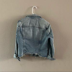 Blank NYC Jackets & Coats - Cutoff Denim Jacket